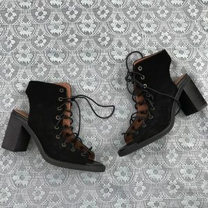 Jeffrey Campbell Free People Minimal Lace Up Heel